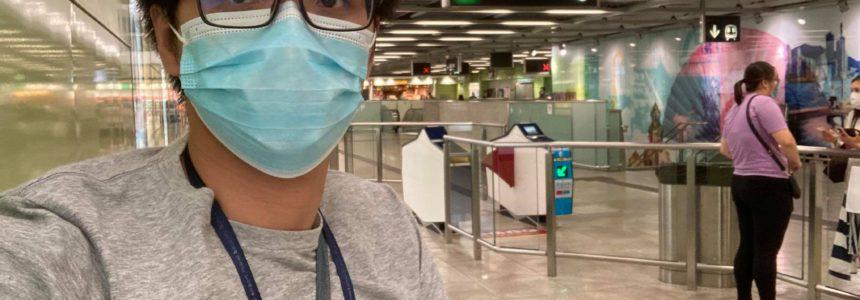 《香港大學站火警鐘誤鳴》