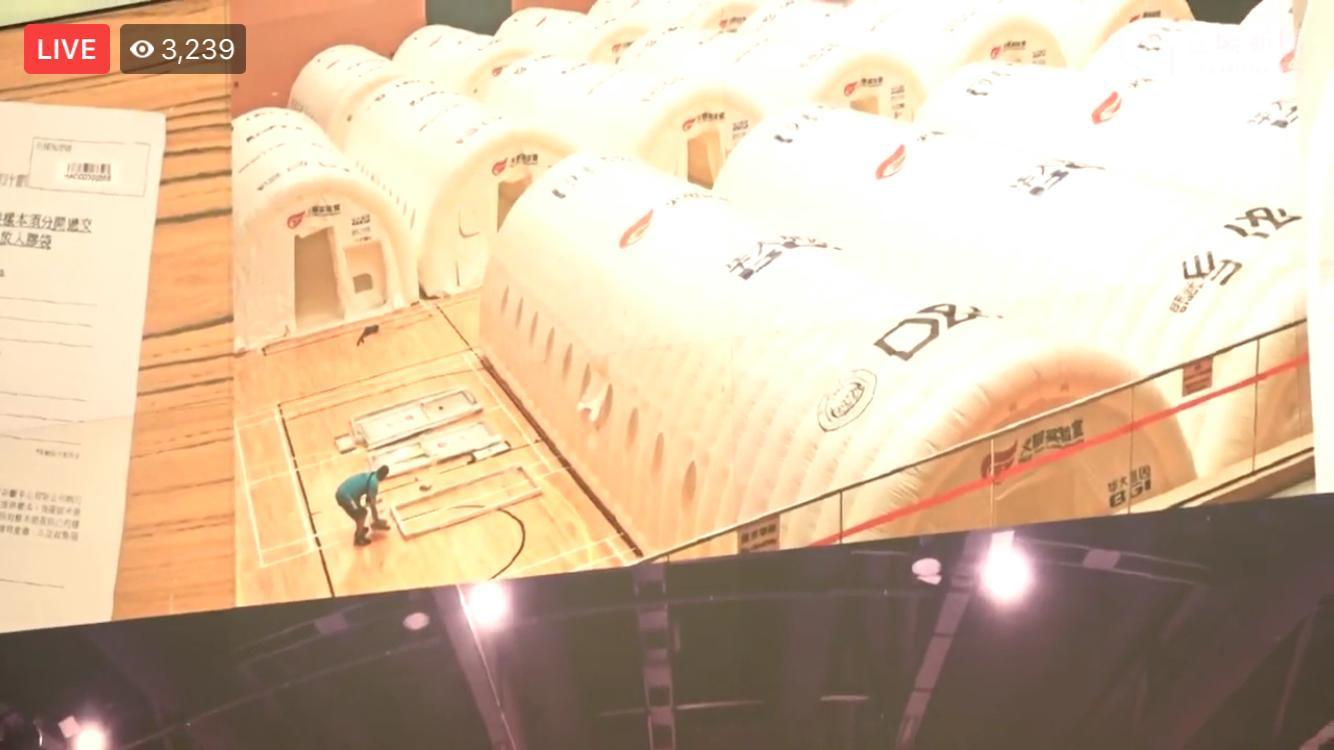 沒有通知居民就在一晚間靜靜雞建成的世界奇觀化驗所,林鄭世界級。