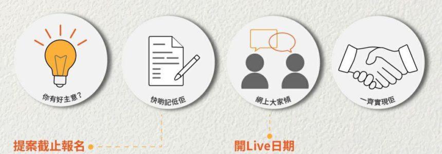 【葉錦龍將會出席由g0vhk舉辦的Webinar+Live session】